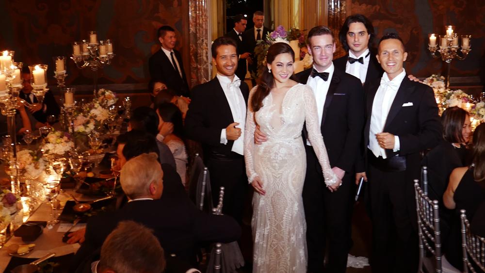 EXCLUSIVE VIDEO & PHOTOS: Cristalle Belo Henares & Justin Pitt's Lake Como Wedding