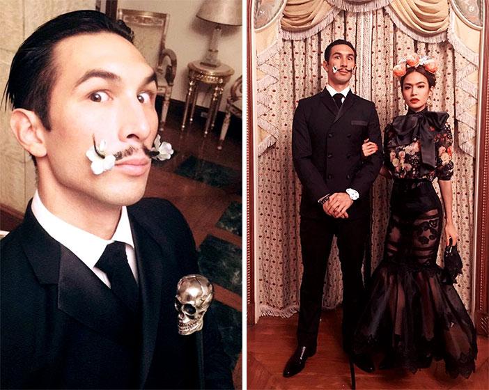 Anton del Rosario as Salvador Dali and Sam Richelle as Frida Kahlo
