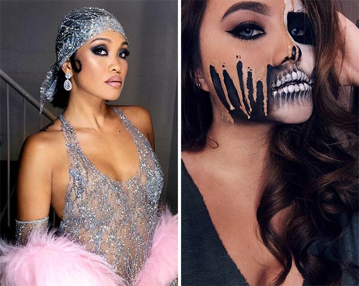 L-R: Boom Sason as Rihanna and Kristen Ponce-Enrile